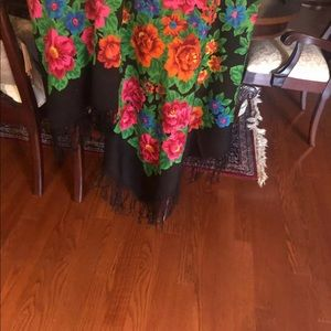 Kashemir Russian scarf - throw new58 inches
